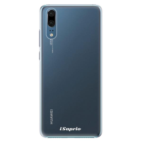 Plastové pouzdro iSaprio - 4Pure - mléčný bez potisku - Huawei P20