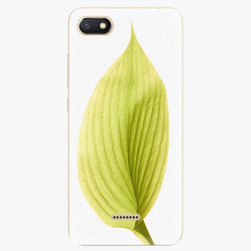 Plastový kryt iSaprio - Green Leaf - Xiaomi Redmi 6A