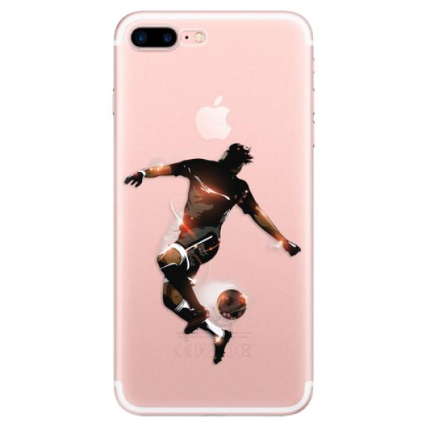 Odolné silikonové pouzdro iSaprio - Fotball 01 - iPhone 7 Plus