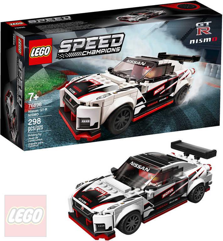 LEGO SPEED CHAMPIONS Auto Nissan GT-R NISMO 76896 STAVEBNICE