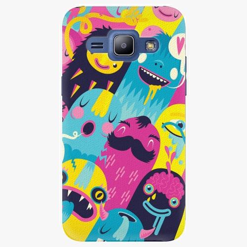 Plastový kryt iSaprio - Monsters - Samsung Galaxy J1