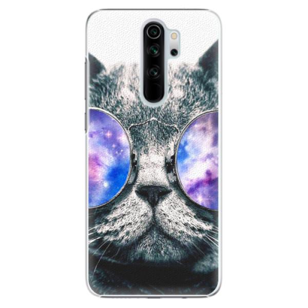 Plastové pouzdro iSaprio - Galaxy Cat - Xiaomi Redmi Note 8 Pro