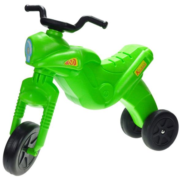 MAD Odrážedlo ENDURO Maxi dětské odstrkovadlo zelená motorka do 25kg
