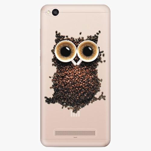 Plastový kryt iSaprio - Owl And Coffee - Xiaomi Redmi 4A