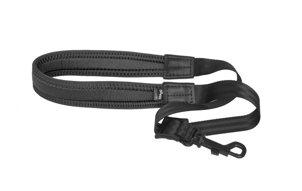 Stagg SAX STRAP2 BKXL, popruh pro saxofon XL, černý