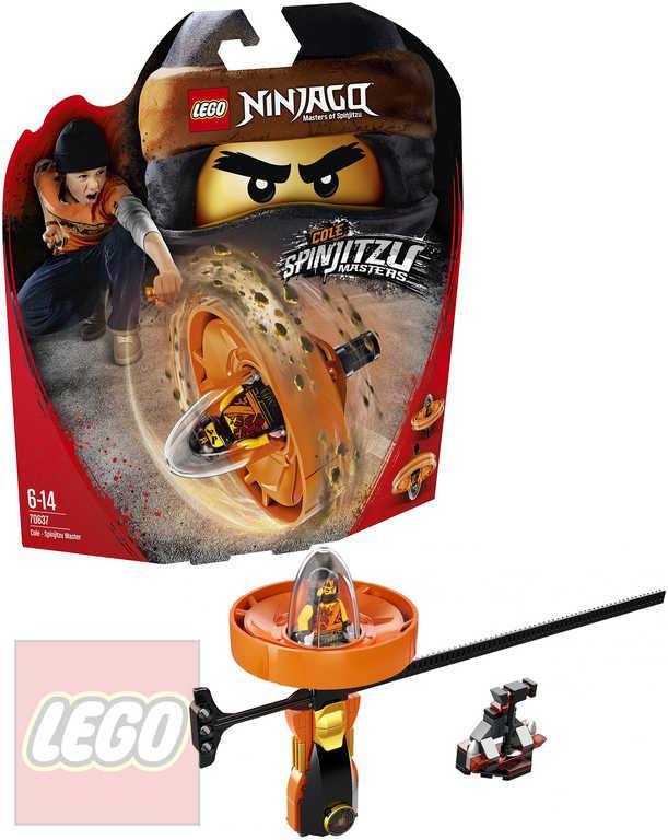 LEGO NINJAGO Cole - Mistr Spinjitzu STAVEBNICE 70637