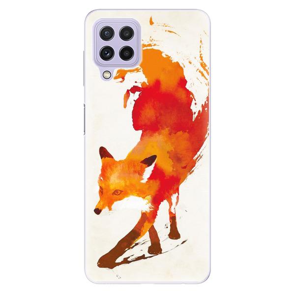 Odolné silikonové pouzdro iSaprio - Fast Fox - Samsung Galaxy A22