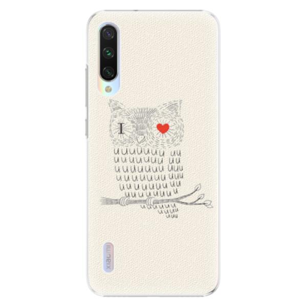 Plastové pouzdro iSaprio - I Love You 01 - Xiaomi Mi A3
