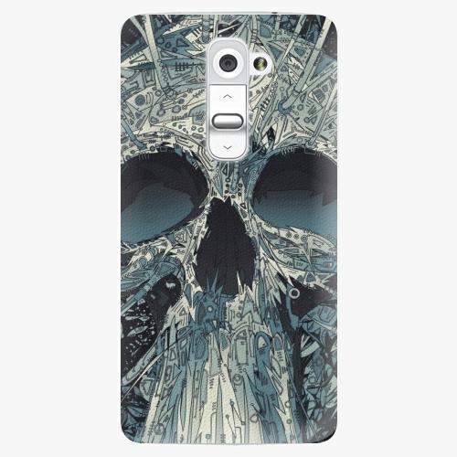 Plastový kryt iSaprio - Abstract Skull - LG G2 (D802B)