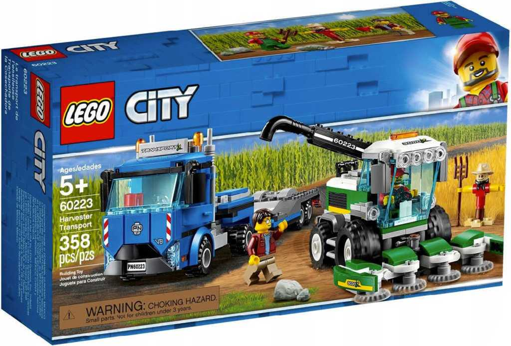 LEGO CITY Kombajn 60223