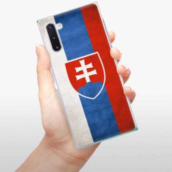 Plastové pouzdro iSaprio - Slovakia Flag - Samsung Galaxy Note 10