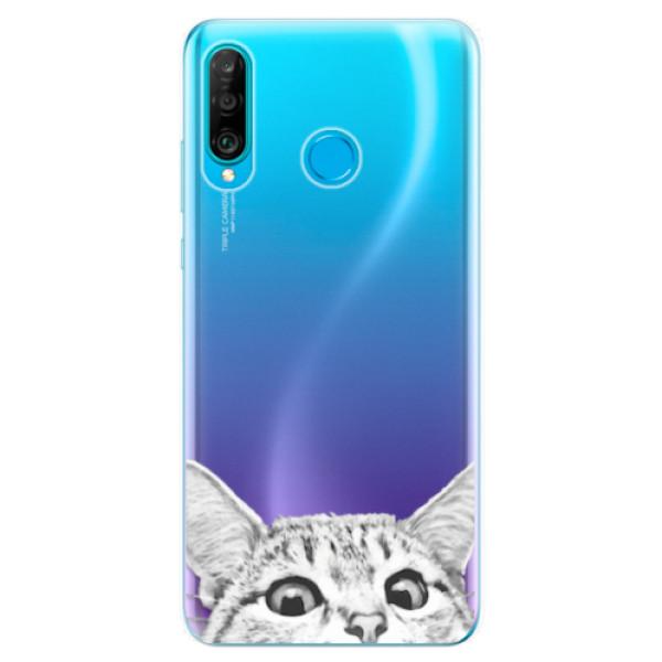 Odolné silikonové pouzdro iSaprio - Cat 02 - Huawei P30 Lite