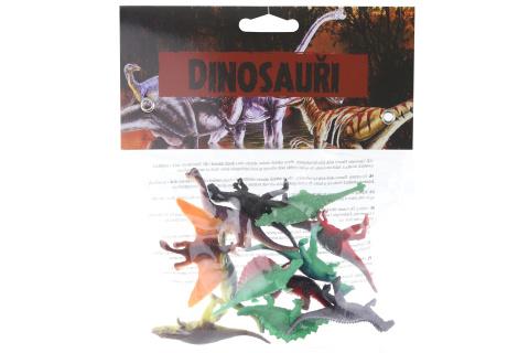 Dinosauři 12 ks v sáčku