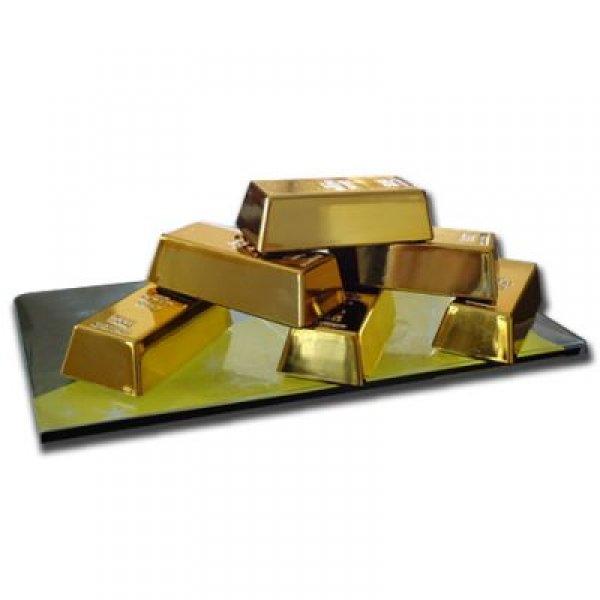 Magnety - zlaté cihličky