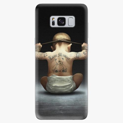 Silikonové pouzdro iSaprio - Crazy Baby - Samsung Galaxy S8