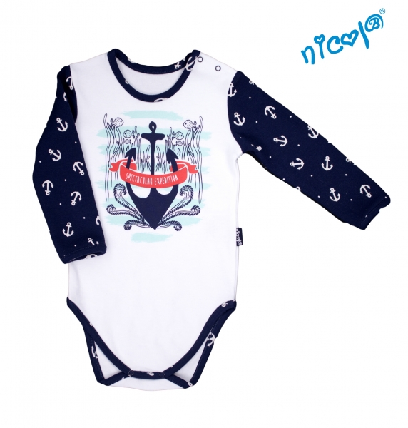 detske-body-nicol-dlouhy-rukav-sailor-bile-vel-98-98-24-36m