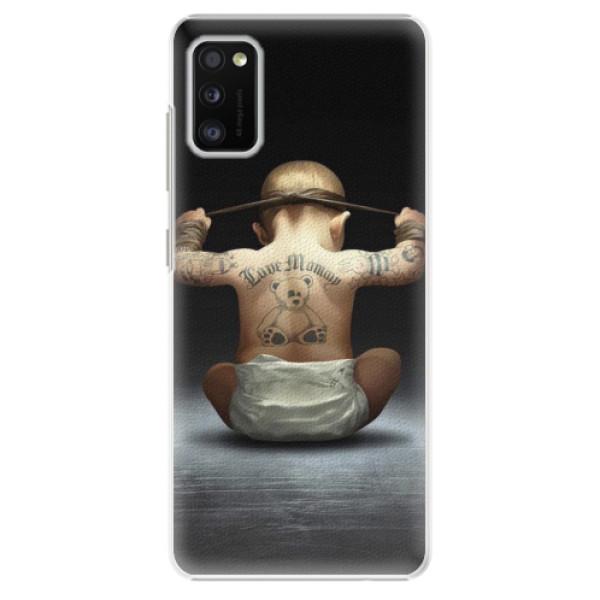 Plastové pouzdro iSaprio - Crazy Baby - Samsung Galaxy A41