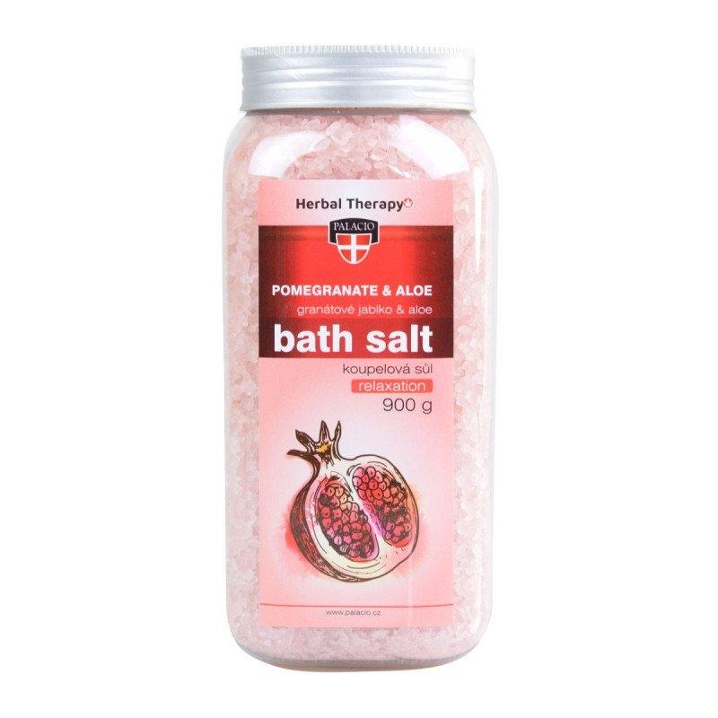 Granátové jablko s Aloe vera sůl do koupele 900 g