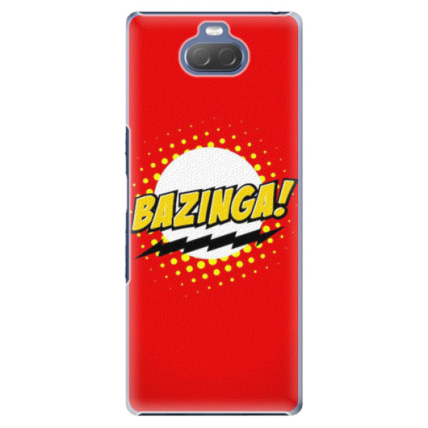 Plastové pouzdro iSaprio - Bazinga 01 - Sony Xperia 10 Plus