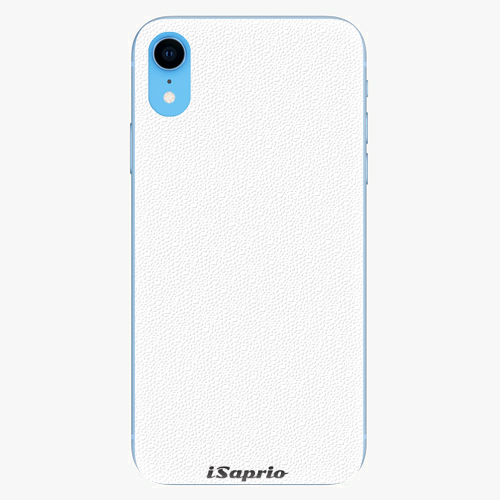 Plastový kryt iSaprio - 4Pure - bílý - iPhone XR