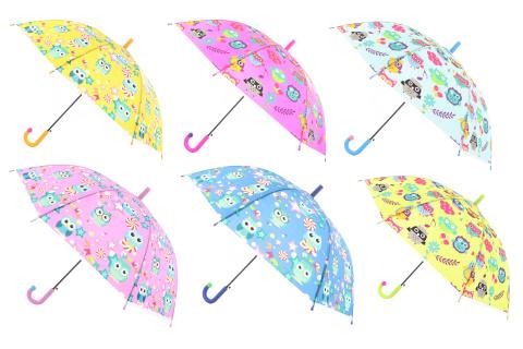 Deštník se sovičkami