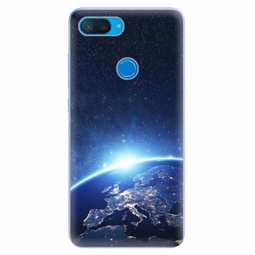 Silikonové pouzdro iSaprio - Earth at Night - Xiaomi Mi 8 Lite