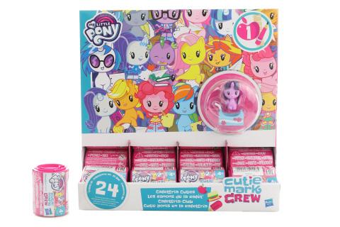 My Little Pony Překvapení v tubě Cutie Mark TV 1.8. - 30.9.2018