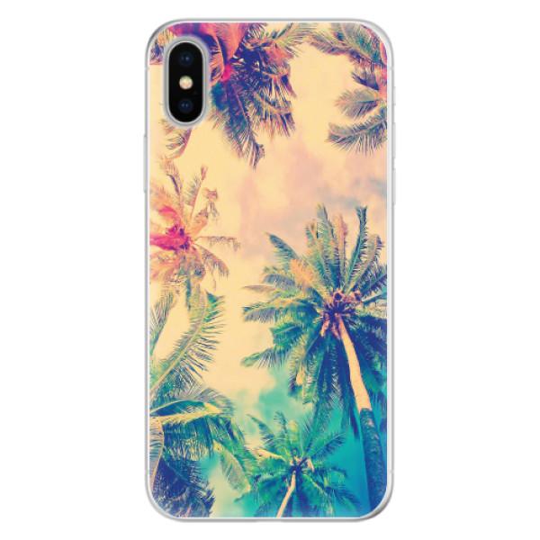Silikonové pouzdro iSaprio - Palm Beach - iPhone X