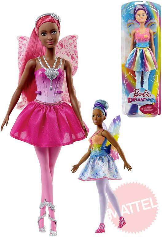 MATTEL BRB Panenka Barbie 30 cm víla s křídly - 4 druhy