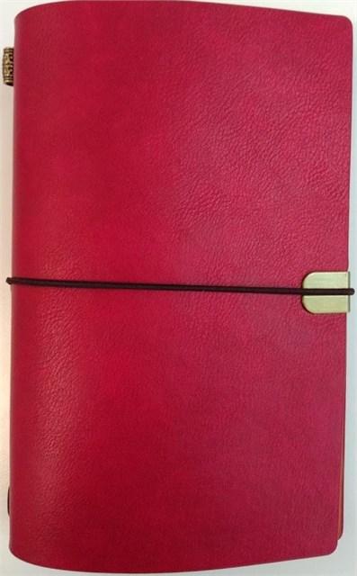 ALBI - Červený luxusní diář