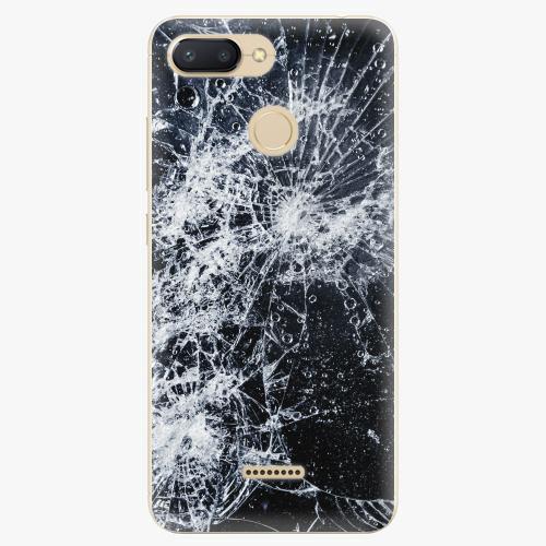 Silikonové pouzdro iSaprio - Cracked - Xiaomi Redmi 6