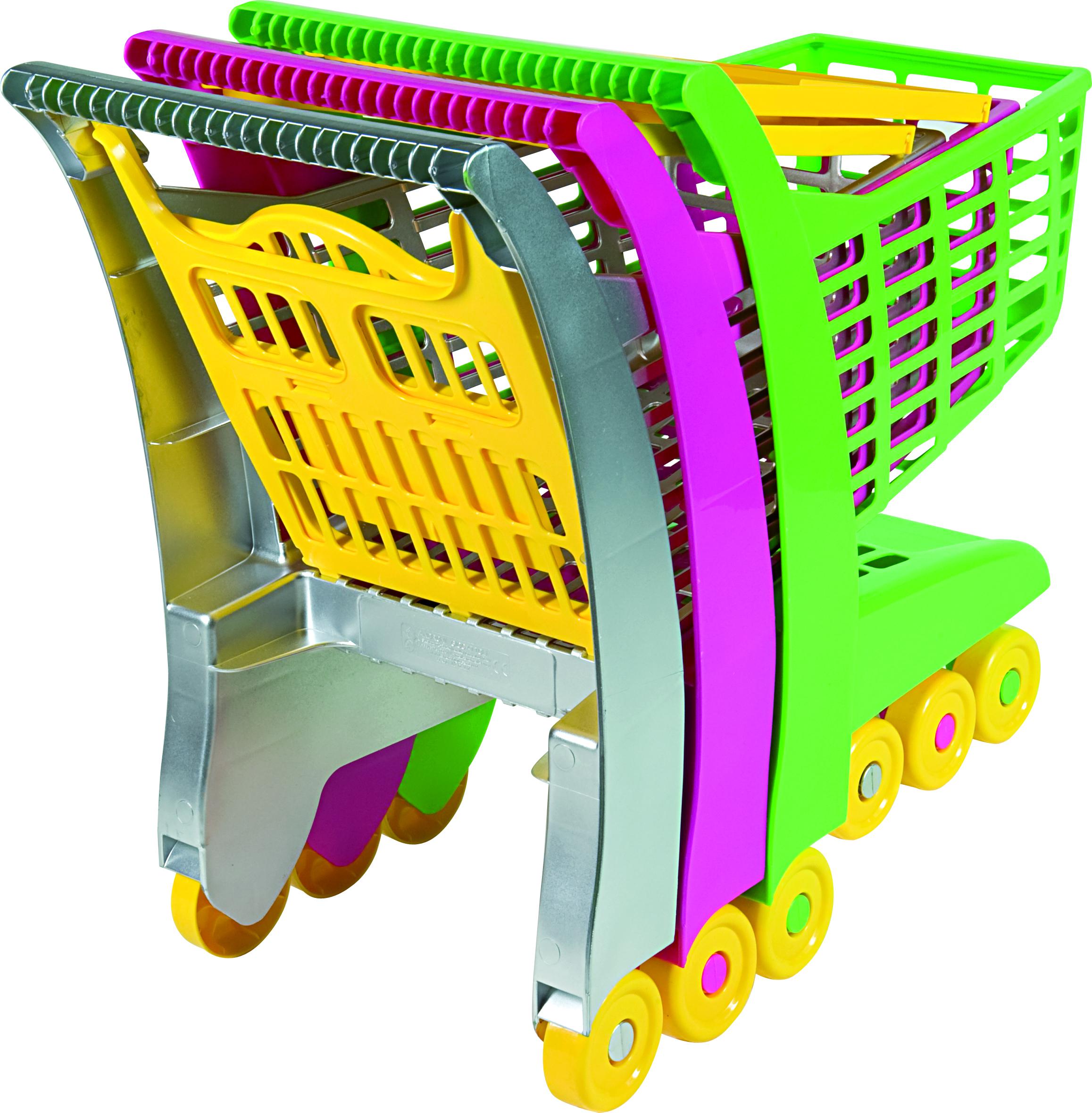 Androni Nákupní vozík - zelený