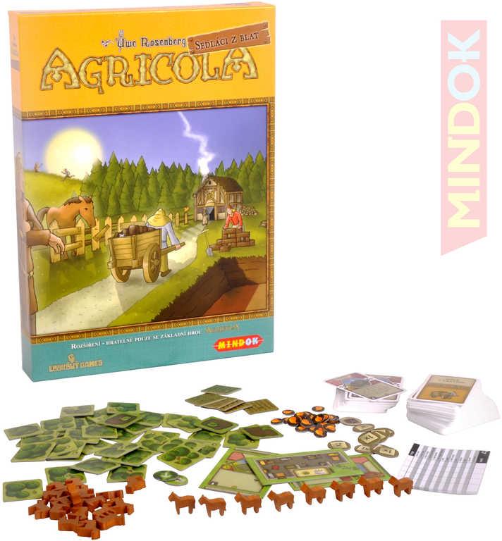 MINDOK HRA Agricola Sedláci z Blat - rozšíření! *SPOLEČENSKÉ HRY*