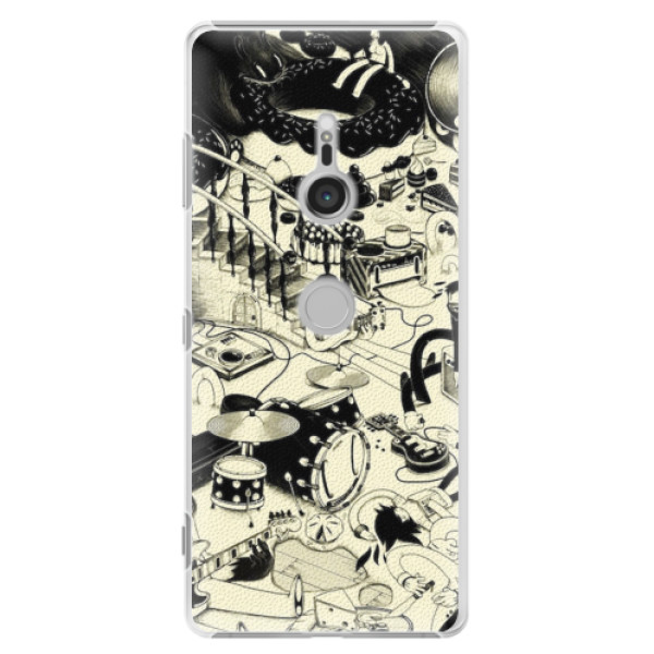 Plastové pouzdro iSaprio - Underground - Sony Xperia XZ3