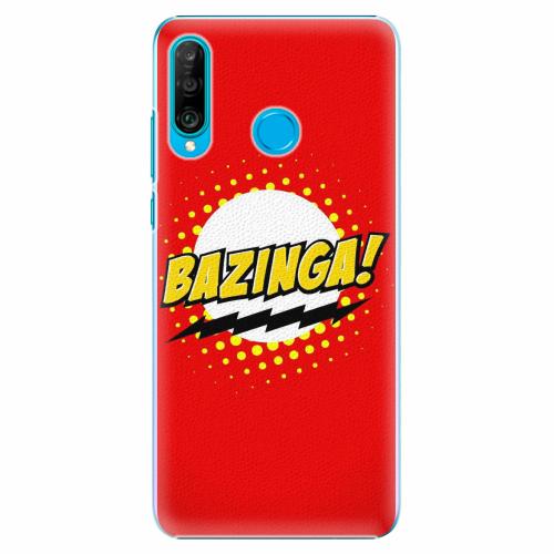 Plastový kryt iSaprio - Bazinga 01 - Huawei P30 Lite