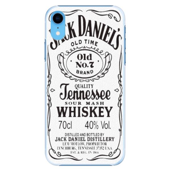 Plastové pouzdro iSaprio - Jack White - iPhone XR