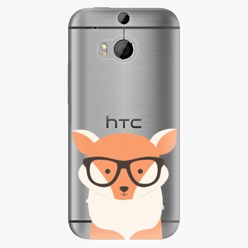 Plastový kryt iSaprio - Orange Fox - HTC One M8