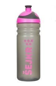 R&B Mědílek s.r.o. Shaker Zdravá láhev se sítkem 0,7 l - růžová