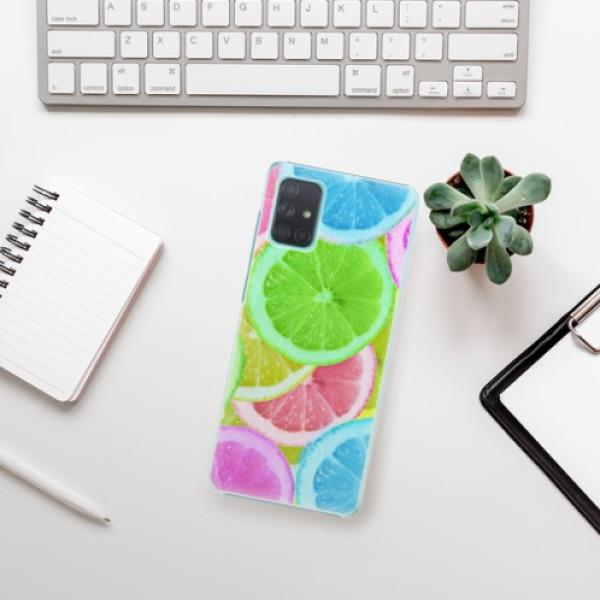Plastové pouzdro iSaprio - Lemon 02 - Samsung Galaxy A71
