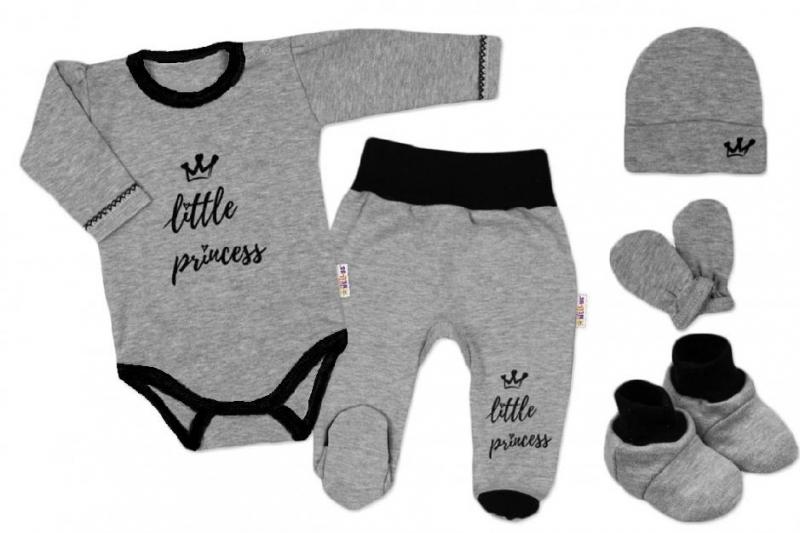 baby-nellys-5-ti-dilna-soupravicka-do-porodnice-little-princess-vel-62-seda-62-2-3m