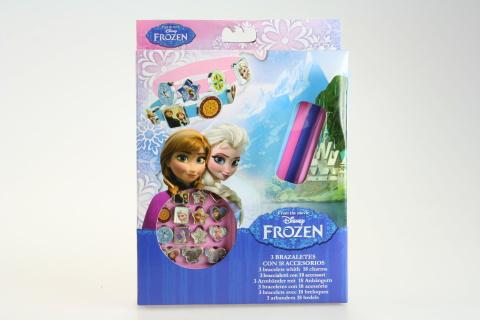 Výroba náramků Frozen