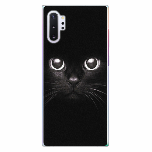 Plastový kryt iSaprio - Black Cat - Samsung Galaxy Note 10+