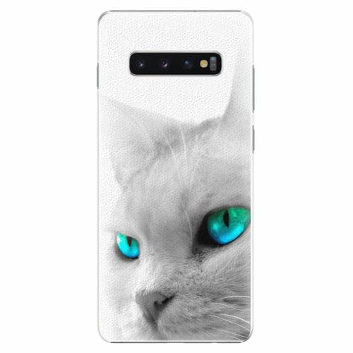Plastový kryt iSaprio - Cats Eyes - Samsung Galaxy S10+