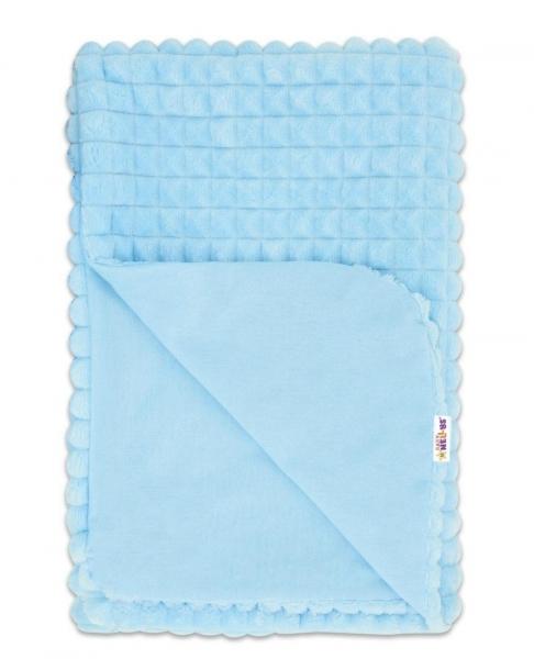 baby-nellys-luxusni-bavlnena-decka-s-minky-75x75cm-modra-modra
