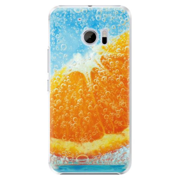Plastové pouzdro iSaprio - Orange Water - HTC 10
