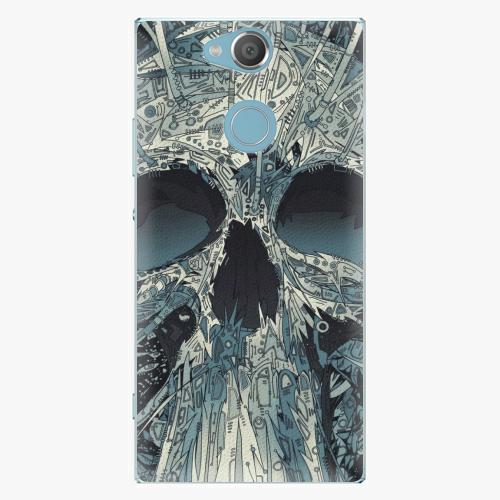 Plastový kryt iSaprio - Abstract Skull - Sony Xperia XA2