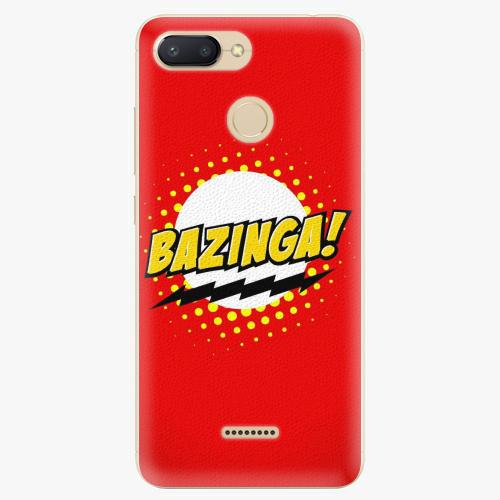Plastový kryt iSaprio - Bazinga 01 - Xiaomi Redmi 6