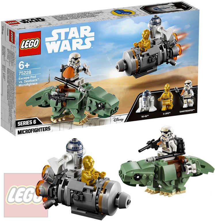 LEGO STAR WARS Únikový modul vs. mikrostíhačky Dewbacků 75228
