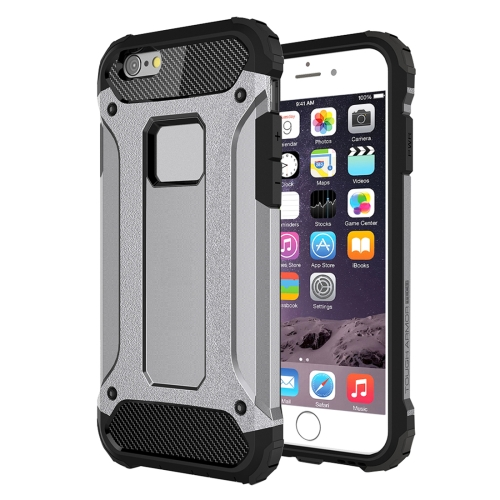 Odolný kryt / pouzdro Spigen Tough Armor Smooth pro iPhone 6 Plus / 6S Plus stříbrný