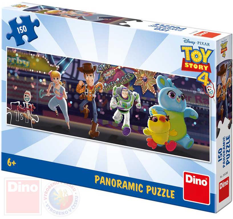 DINO Puzzle panoramatické 66x23cm Toy Story 4 150 dílků v krabici